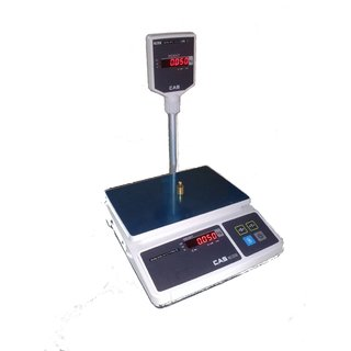 CAS Digital Weighing Scale 30 Kg x 1g. Smart, Simple, Sleek and attractive.