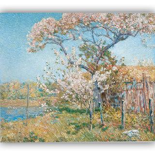Vitalwalls Portrait Painting Canvas Art Print (Figure-240-30Cm_123)