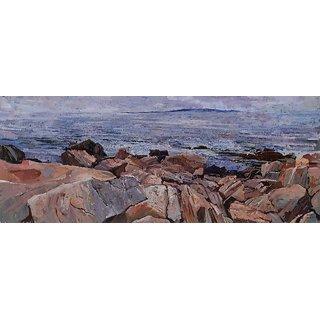 Vitalwalls Landscape Painting Canvas Art Print (Landscape-332-45Cm)