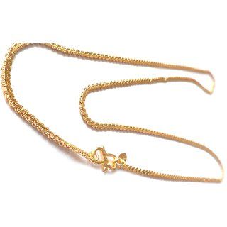 J S Imitation Jewellery Chain For Regular Wear Looks Like A Real Gold