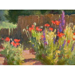 Vitalwalls Landscape Painting Canvas Art Print (Landscape-342-60Cm)