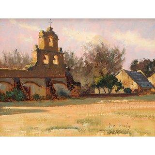Vitalwalls Landscape Painting Canvas Art Print (Landscape-346-F-45Cm)