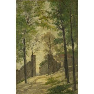 Vitalwalls Landscape Painting Canvas Art Print (Landscape-357-45Cm)