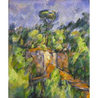 Vitalwalls Landscape Painting Canvas Art Print (Landscape-375-45Cm)