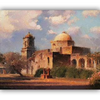Vitalwalls Landscape Painting Canvas Art Print (Landscape-139-60Cm)