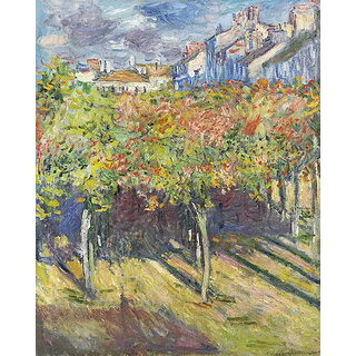 Vitalwalls Landscape Painting Canvas Art Print (Landscape-378-45Cm)