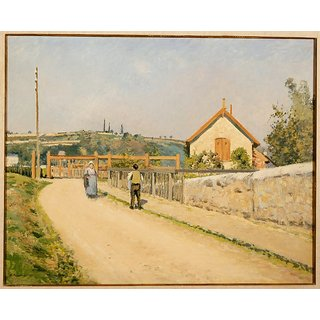Vitalwalls Landscape Painting Canvas Art Print (Landscape-379-60Cm)