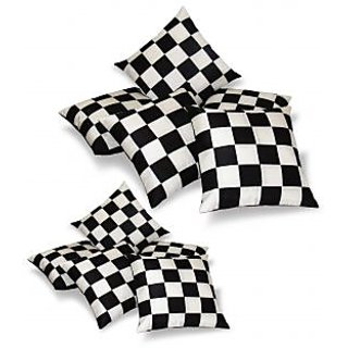 Regular And Small Cushion Covers Combo-Pack of 10 pcs (B5S5-3)