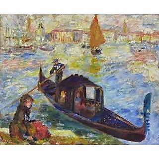 Vitalwalls Landscape Painting Canvas Art Print (Landscape-374-60Cm)