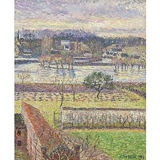 Vitalwalls Landscape Painting Canvas Art Print (Landscape-376-45Cm)