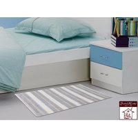 Soft Cotton Bath Mat 40X60 Cm -1Pc (SOS-497-PURPLE)