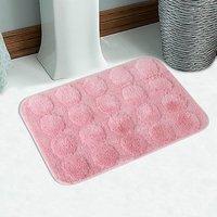 Soft Cotton Coto Design Bath Mat 50X80 Cm -1Pc (SOS-160-PINK)