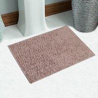 Soft Cotton Anti Slip Bath Mat 40X60 Cm -1Pc (SOS-536-BEIGE)