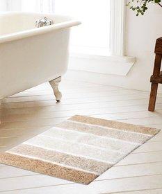 Soft Cotton Bath Mat 50X80 Cm -1Pc (SOS-505-BEIGE)