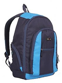 Laptop Bag - Backpack - Blue  Black Color Unisex Bags - By Bags R Us