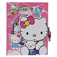Funcart Funcart Hello Kitty Secret Diary With Pink Colo