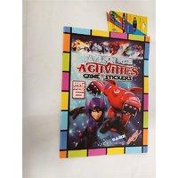 Funcart Funcart Big Hero Coloring Book With Crayons.