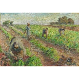 Vitalwalls Landscape Painting Canvas Art Print (Landscape-413-30Cm)