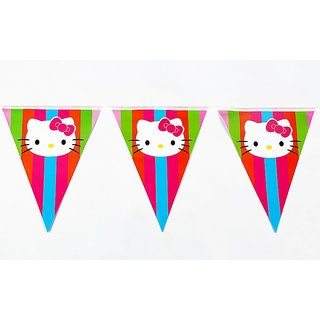 Funcart Hello Kitty Flag Banner