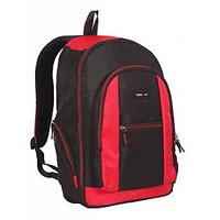 Laptop Bag - Backpack - Black  Red Color Unisex Bags - By Bags R Us