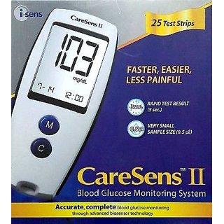 CareSens-II-GlucoMeter-Blood-Glucose-Monitor-iSense-Technology-50-Strips-Free