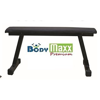 Body Maxx Flat Bench For Various Exercises