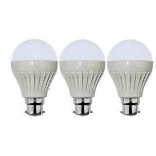 VRCT 12W LED Bulb Set of 3 Piece Combo Offer