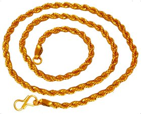 Men Style Gold Rope Chain