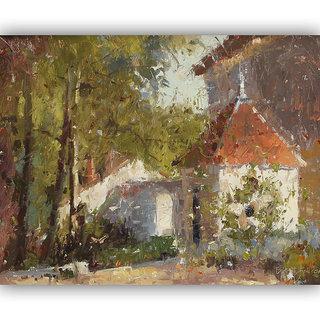 Vitalwalls Landscape Painting Canvas Art Print (Landscape-230-F-60Cm)