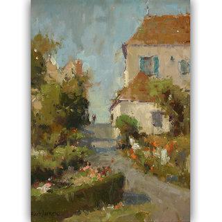 Vitalwalls Landscape Painting Canvas Art Print (Landscape-231-F-60Cm)