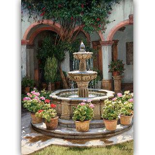 Vitalwalls Landscape Painting Canvas Art Print (Landscape-233-F-30Cm)
