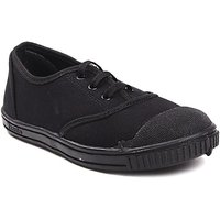 Air City Pu Black Eva School Shoes