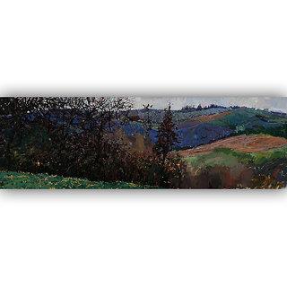 Vitalwalls Landscape Painting Canvas Art Print (Landscape-290-F-45Cm)