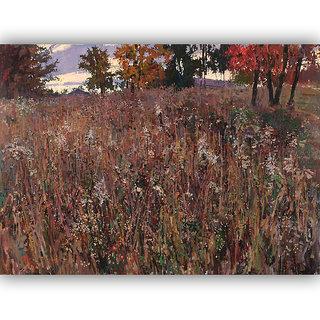 Vitalwalls Landscape Painting Canvas Art Print (Landscape-313-F-45Cm)