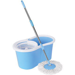 Magic Mop Stainless Steel Rotating Spin 360 Degrees Floor