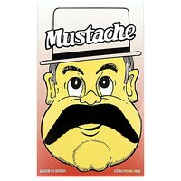 Funcart Single Stick On Moustache Design 2