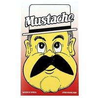 Funcart Single Stick On Moustache Design 7