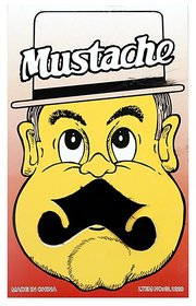 Funcart Single Stick On Moustache Design 3