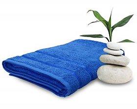 Story@Home Blue 1Pc 450 GSM 100% Cotton Bath Towel - (70X140 cms)