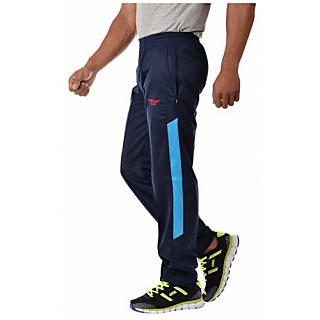 5df4863e9b6939 Buy Rg Sports navy blue Polyster Men Track Pants Online @ ₹330 from ...