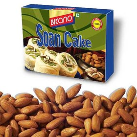 Bikano Soan Cake And Masala Almonds