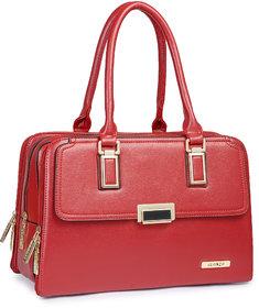 Alonzo Pu Made Red Colour Handbag/Shoulder Bag ALONZO0200