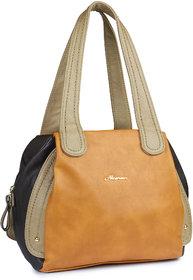 Brown Shade Pu Made Handbag ALONZO0187