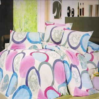 Welhouse India peacegiving white single bed sheet with 1 pillow cover