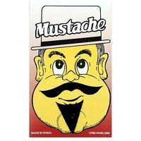 Funcart Single Stick On Moustache With Beard Design 3
