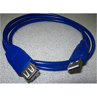 USB 2.0 MALE TO FEMALE EXTENSION CABLE 3M
