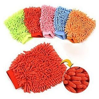 Microfiber Cleaning Glove Dusters(Pack of 2) - Assorted colors