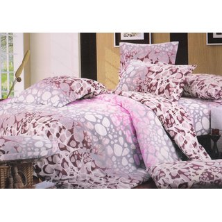 Welhouse India Rock Design Single bed sheet with 1 pillow cover