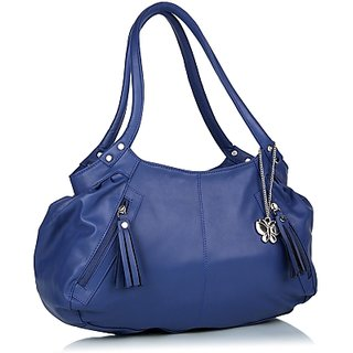Tejas Ladies Hand Bag(Blue)