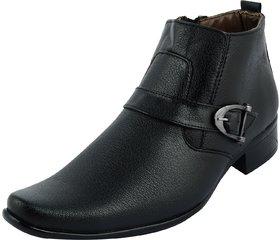 Sky Line Mens Black Lace-up Boots